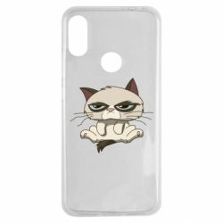 Чохол для Xiaomi Redmi Note 7 Grumpy Cat Art nope
