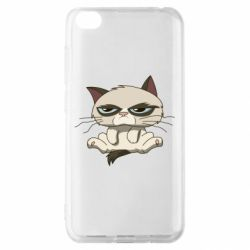 Чохол для Xiaomi Redmi Go Grumpy Cat Art nope