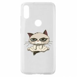 Чохол для Xiaomi Mi Play Grumpy Cat Art nope