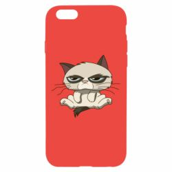Чохол для iPhone 6/6S Grumpy Cat Art nope