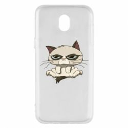 Чохол для Samsung J5 2017 Grumpy Cat Art nope