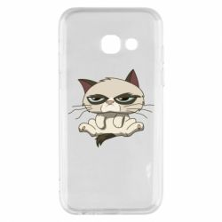 Чохол для Samsung A3 2017 Grumpy Cat Art nope