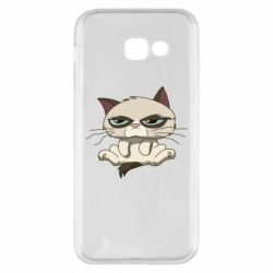 Чохол для Samsung A5 2017 Grumpy Cat Art nope