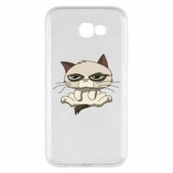 Чохол для Samsung A7 2017 Grumpy Cat Art nope