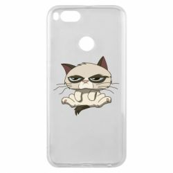 Чохол для Xiaomi Mi A1 Grumpy Cat Art nope