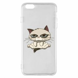 Чохол для iPhone 6 Plus/6S Plus Grumpy Cat Art nope