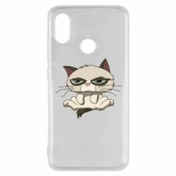 Чохол для Xiaomi Mi8 Grumpy Cat Art nope