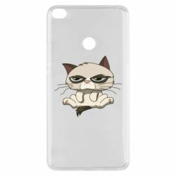 Чохол для Xiaomi Mi Max 2 Grumpy Cat Art nope