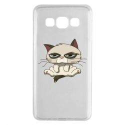 Чохол для Samsung A3 2015 Grumpy Cat Art nope