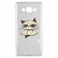 Чохол для Samsung A5 2015 Grumpy Cat Art nope