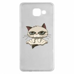 Чохол для Samsung A5 2016 Grumpy Cat Art nope