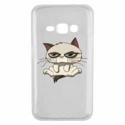 Чохол для Samsung J1 2016 Grumpy Cat Art nope