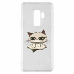 Чохол для Samsung S9+ Grumpy Cat Art nope