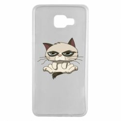 Чохол для Samsung A7 2016 Grumpy Cat Art nope