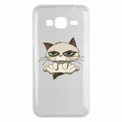 Чохол для Samsung J3 2016 Grumpy Cat Art nope