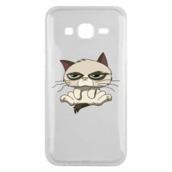 Чохол для Samsung J5 2015 Grumpy Cat Art nope
