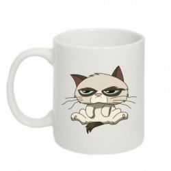 Кружка 320ml Grumpy Cat Art - FatLine
