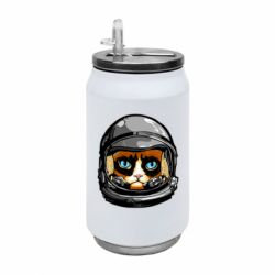 Термобанка 350ml Grumpy Cat Astronaut