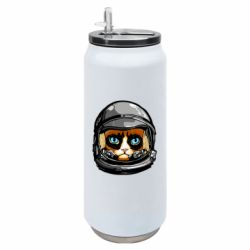 Термобанка 500ml Grumpy Cat Astronaut