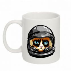 Кружка 320ml Grumpy Cat Astronaut