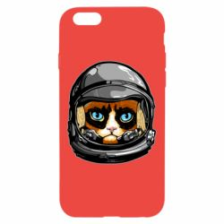 Чехол для iPhone 6/6S Grumpy Cat Astronaut