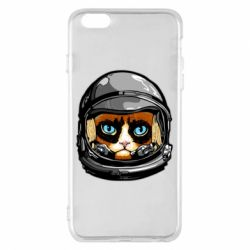 Чехол для iPhone 6 Plus/6S Plus Grumpy Cat Astronaut