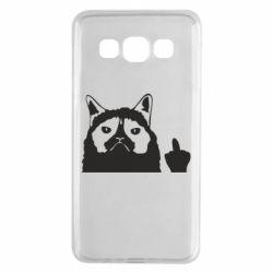 Чохол для Samsung A3 2015 Grumpy cat F**k Off