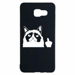 Чохол для Samsung A5 2016 Grumpy cat F**k Off