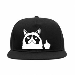 Снепбек Grumpy cat F**k Off