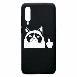 Чохол для Xiaomi Mi9 Grumpy cat F**k Off