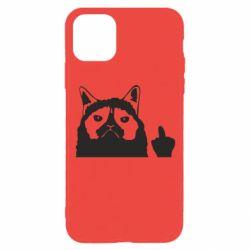 Чохол для iPhone 11 Pro Grumpy cat F**k Off
