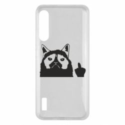 Чохол для Xiaomi Mi A3 Grumpy cat F**k Off