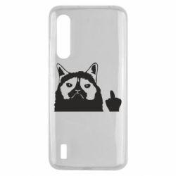 Чохол для Xiaomi Mi9 Lite Grumpy cat F**k Off