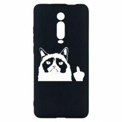 Чохол для Xiaomi Mi9T Grumpy cat F**k Off