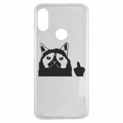 Чохол для Xiaomi Redmi Note 7 Grumpy cat F**k Off
