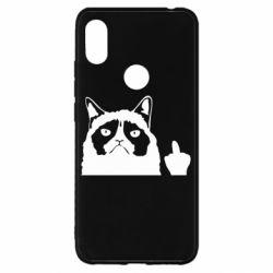 Чохол для Xiaomi Redmi S2 Grumpy cat F**k Off