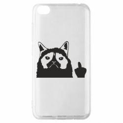 Чохол для Xiaomi Redmi Go Grumpy cat F**k Off