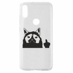 Чохол для Xiaomi Mi Play Grumpy cat F**k Off