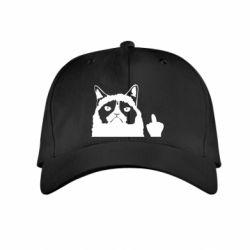 Дитяча кепка Grumpy cat F**k Off