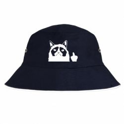 Панама Grumpy cat F**k Off