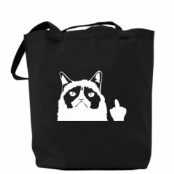 Сумка Grumpy cat F**k Off