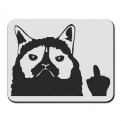 Килимок для миші Grumpy cat F**k Off