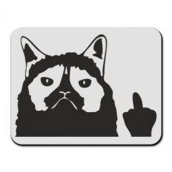 Коврик для мыши Grumpy cat F**k Off