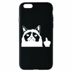 Чохол для iPhone 6/6S Grumpy cat F**k Off