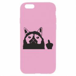Чохол для iPhone 6 Plus/6S Plus Grumpy cat F**k Off