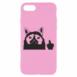 Чохол для iPhone 7 Grumpy cat F**k Off