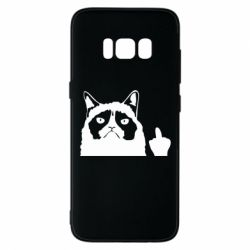 Чохол для Samsung S8 Grumpy cat F**k Off