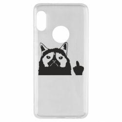 Чохол для Xiaomi Redmi Note 5 Grumpy cat F**k Off