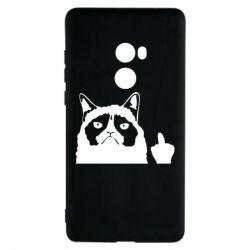 Чохол для Xiaomi Mi Mix 2 Grumpy cat F**k Off
