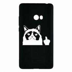 Чохол для Xiaomi Mi Note 2 Grumpy cat F**k Off
